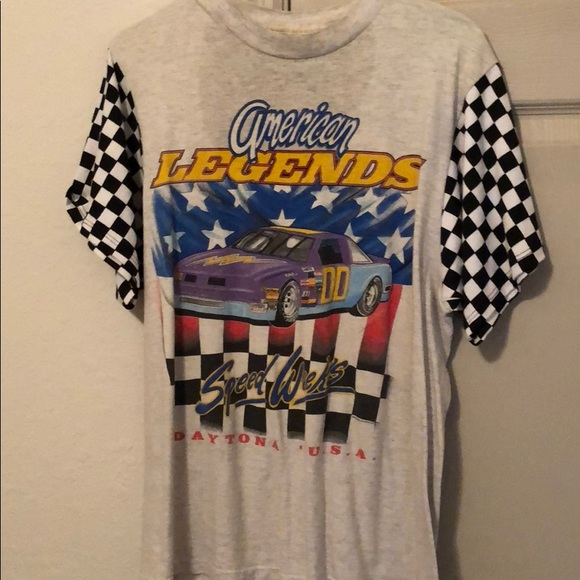 9466feb4a68 LF Tops | Vintage Race Car T Shirt | Poshmark